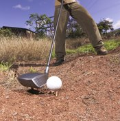 Teeing off in a stony area can cause scratches on your driver.