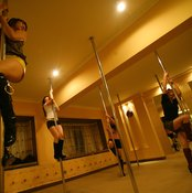 Look for a pole dancing class at your local recreation center.