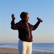 Weightlifting can help make bones stronger.