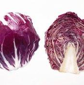 Juice red cabbage to consume more calcium, potassium and vitamin C.