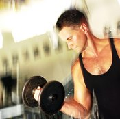 Bicep curls are just one example of isotonic resistance training.