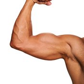 Improve the appearance of your upper arms with triceps dips.