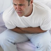 Stomach cramps can occur up to six hours after your workout.