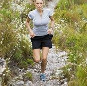 Running hills makes your legs stronger.