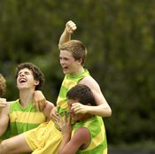 Participating in a team sport can be a powerful stress-reduction tool.