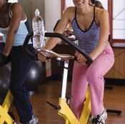 Bicyclists can burn more calories by raising their heart rates.