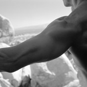 Stick with safe exercises to avoid shoulder injury.