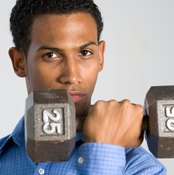 Bicep curls are a type of therapeutic exercise.