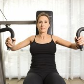 Building muscles behind your breasts will naturally lift them.