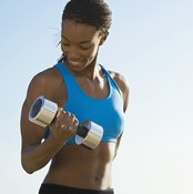 A bicep curl strengthens your biceps brachii.