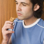 Energy bars are perfect for prerunning appetites.