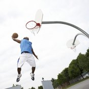 Basketball players use plyometric training to improve their vertical leaps.