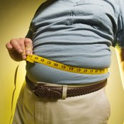 A big stomach increases the risk of heart disease and diabetes.
