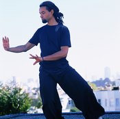Qi gong exercises help keep you focused.