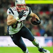 Rob Gronkowski of the New England Patriots is one of the NFL's premier tight ends.