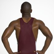 The pulldown can be an effective way to build up your back.