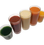 Fruit and vegetable juices are rich in potassium.