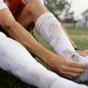If you don't put your socks on properly, you may even be in defiance of the laws of the game.
