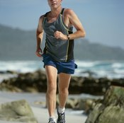 The terrain can affect your jogging time.