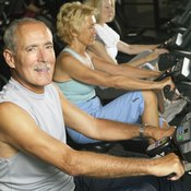 An exercise bike lets you enjoy a workout in a climate-controlled environment.
