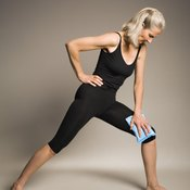 Yoga stretches can help you to develop flexibility in your knees.