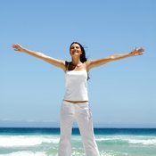 Feeling good can be a positive reinforcement for exercising.