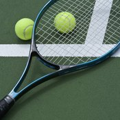 Tennis racket head size is calculated using a standard area formula.