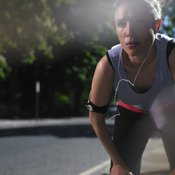 Too-intense exercise can cause nausea.