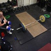Tight hip flexors can impact on your deadlift strength.