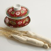 White ginseng is the rawest form of the herb
