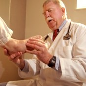 Drop foot can occur after a stroke.