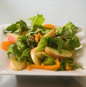High-fiber fruits and vegetables are good bulk foods.