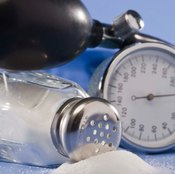 Having too much salt in the body can cause high blood pressure.