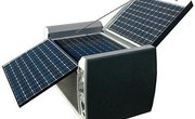 How to build a portable solar panel system