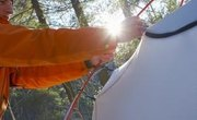 Instructions for Setting Up a Cottage Tent