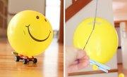 Rocket Balloon Races, Two Ways