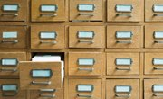 How to Use a Library Card Catalog