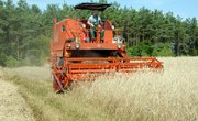 How to Harvest Wheat With a Case IH 2588 Combine