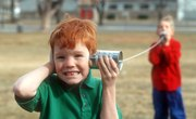 How to Make a Walkie Talkie With Tin Cans & a String