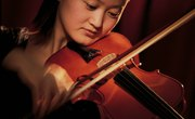Course Requirements for a Bachelor of Music Degree in Violin