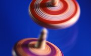 Spinning Tops for Science Projects