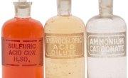 The Properties of Acidic Substances