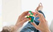Rubik's Cube Science Fair Project Ideas