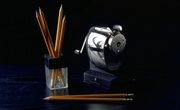 Types of Simple Machines in a Pencil Sharpener