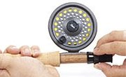 How to Put a Fly-Fishing Rod and Reel Together