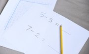 How to Teach First Grade Math Subtraction Tables
