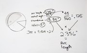 How to Calculate the Arc Length, Central Angle, and Circumference of a Circle