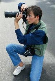 Los fotógrafos independientes disfrutan de variados ambientes de trabajo, pero el ingreso es a menudo irregular.