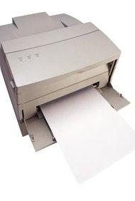 Las partículas microscópicas de tóner producen gran nitidez en las páginas impresas.
