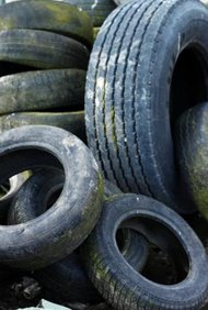Gana dinero con neumáticos viejos.